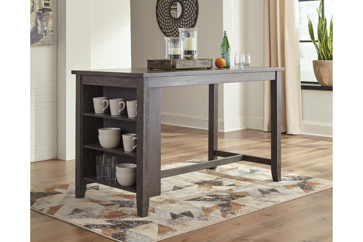 Pleasing Caitbrook Counter Height Dining Room Table Ashley Machost Co Dining Chair Design Ideas Machostcouk