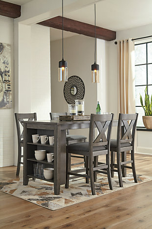 Caitbrook Counter Height Dining Set, , large