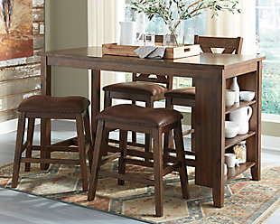 Chaleny Counter Height Dining Set, , large