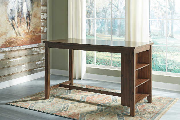 Chaleny Counter Height Dining Table and 2 Barstools, , large