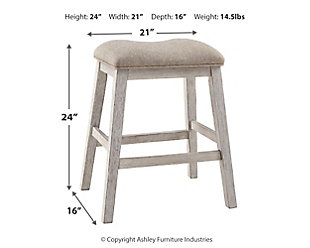 Skempton Counter Height Bar Stool, , large