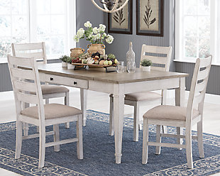 Skempton Dining Table and 4 Chairs, , large