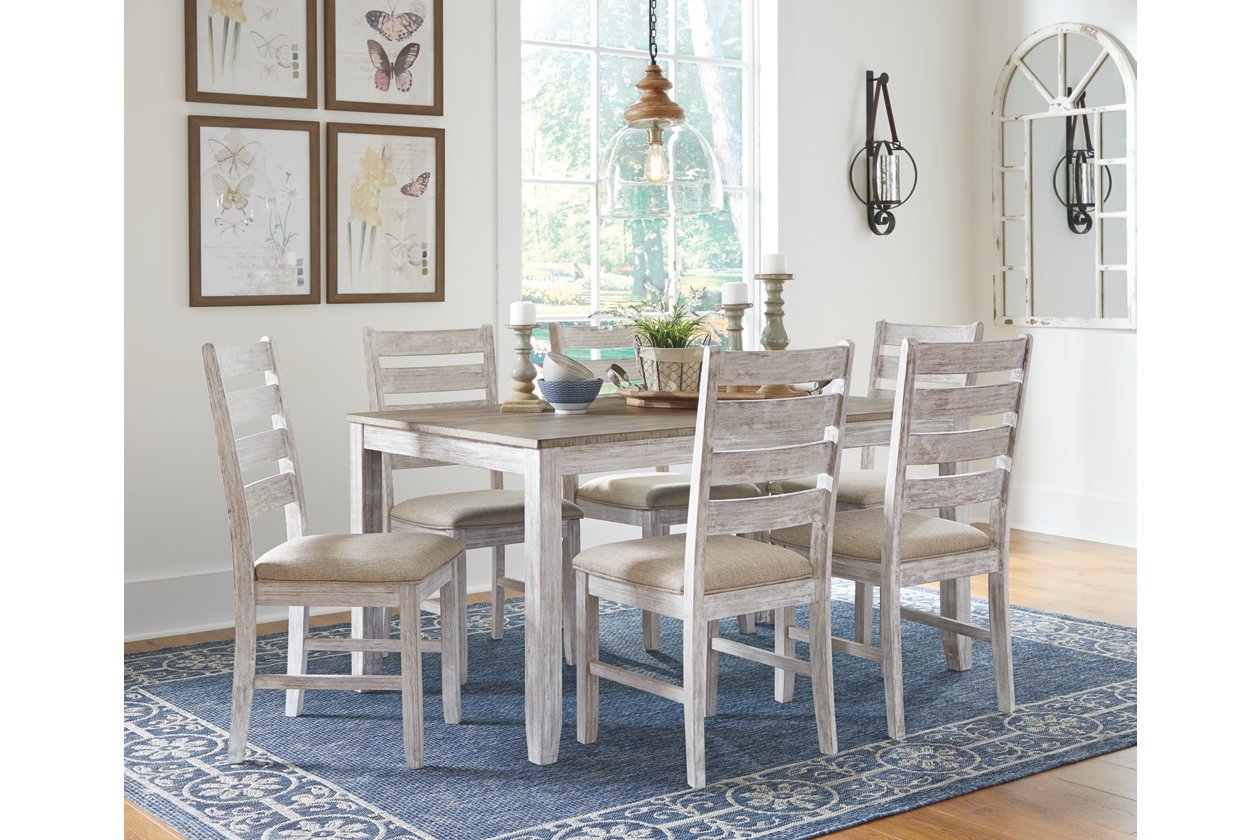 Skempton Dining Table and Chairs (Set of 12)  Ashley Furniture