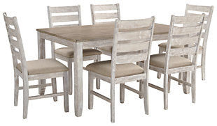Skempton Dining Table and Chairs (Set of 7), , large