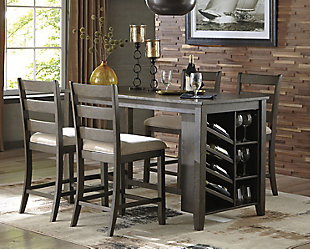 Rokane Counter Height Dining Room Table, , Large ...