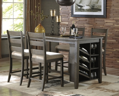 Picture of: Rokane Counter Height Dining Table Ashley Furniture Homestore