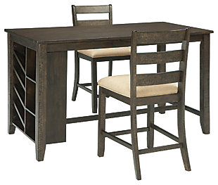 Rokane Counter Height Dining Table and 2 Barstools, , rollover