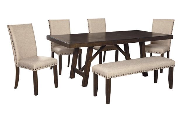 Rokane Dining Table And 4 Chairs, 4 Dining Room Chairs