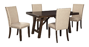 Rokane Dining Table and 4 Chairs, , large