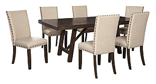 Rokane Dining Table and 6 Chairs, , large