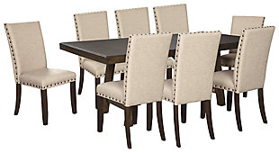 Rokane Dining Table and 8 Chairs, , rollover