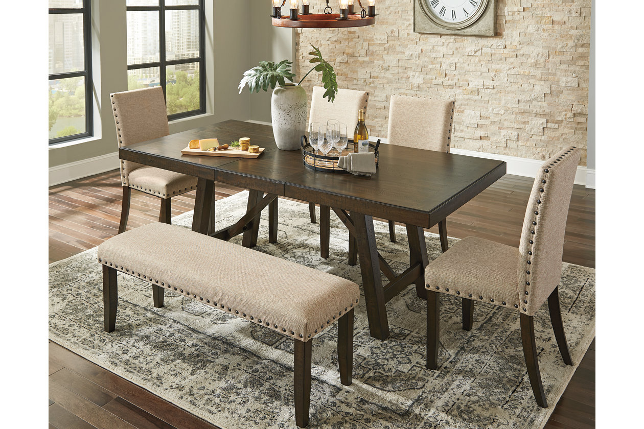 Rokane Dining Extension Table Ashley Furniture Homestore