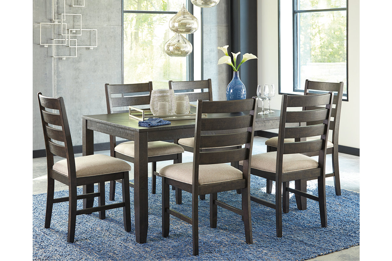 Rokane Dining Room Table and Chairs (Set of 7) | Ashley ...