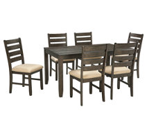 Mallenton Dining Room Table And Chairs Set Of 7 Ashley Furniture Homestore