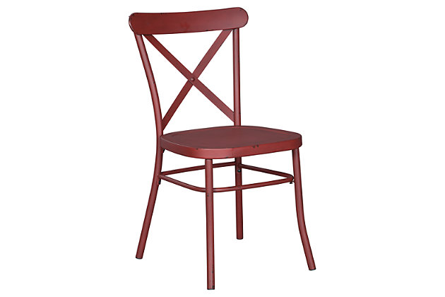 Minnona Dining Room Chair, Red, large