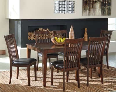 Mallenton Dining Room Table and Chairs (Set of 7) by Ashl...