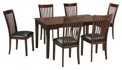 Mallenton Dining Room Table and Chairs Set of 7 Ashley