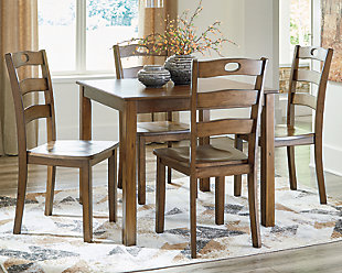 Hazelteen Dining Room Table and Chairs (Set of 5), , rollover