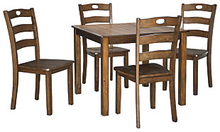 Hazelteen Dining Table and Chairs (Set of 5), , large