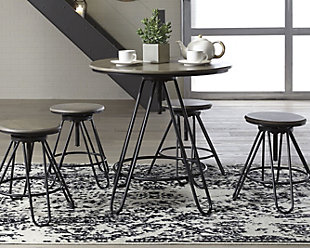 Sonilyn Counter Height Dining Room Table and Bar Stools (Set of 5), , rollover