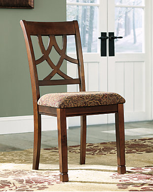 Leahlyn Dining Room Chair, Medium Brown, rollover