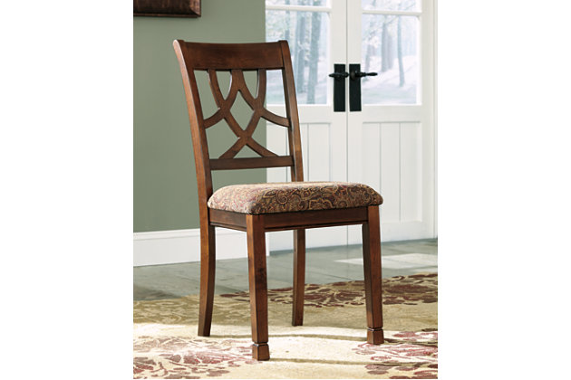 Leahlyn Dining Room Chair (Set of 2) by Ashley HomeStore, Brown