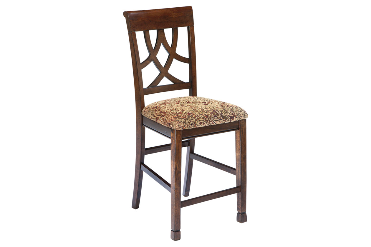Outstanding Leahlyn Counter Height Bar Stool Ashley Furniture Homestore Caraccident5 Cool Chair Designs And Ideas Caraccident5Info