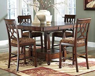 Leahlyn Counter Height Dining Room Table, , rollover