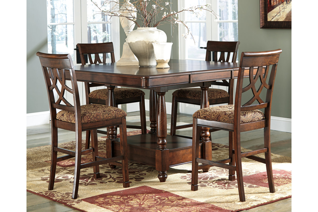 Leahlyn Counter Height Dining Room Table Ashley Furniture Homestore