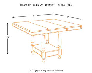 Leahlyn Counter Height Dining Room Table, , large
