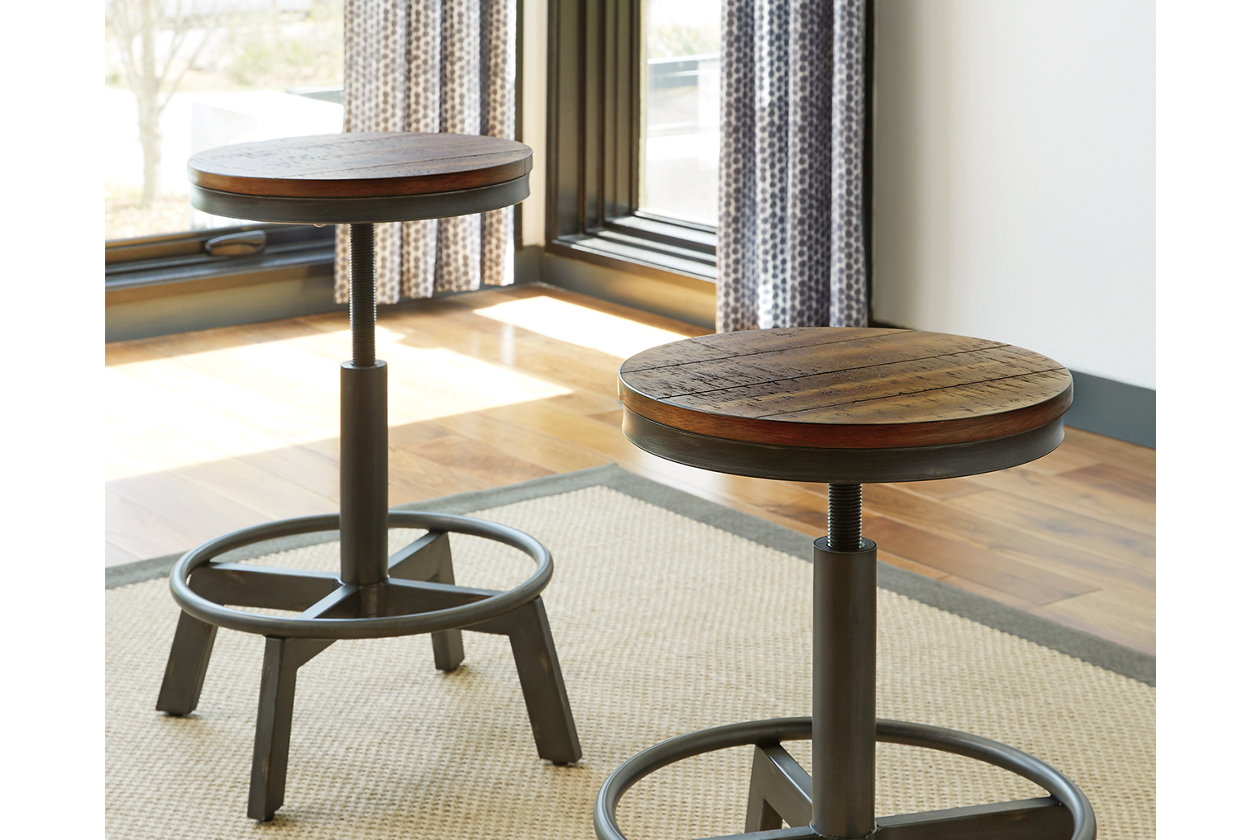 Magnificent Torjin Adjustable Height Bar Stool Ashley Furniture Homestore Gmtry Best Dining Table And Chair Ideas Images Gmtryco