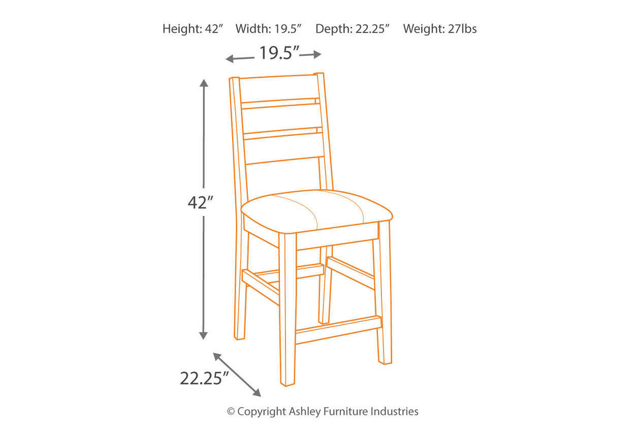 Fine Larchmont Counter Height Bar Stool Ashley Furniture Homestore Ncnpc Chair Design For Home Ncnpcorg