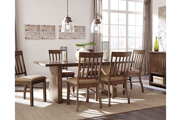zilmar dining room table | ashley furniture homestore