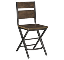 Kavara Counter Height Double Bar Stool Ashley Furniture