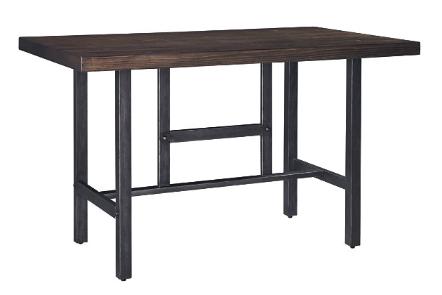 Kavara Counter Height Dining Table and 4 Barstools and Bench, , large