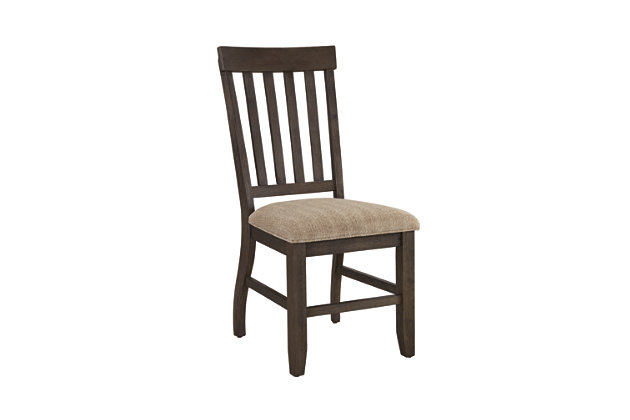 Dresbar Dining Room Chair (Set of 2) by Ashley HomeStore, White