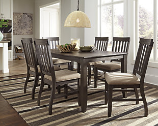 Dresbar Dining Table and 6 Chairs, , large