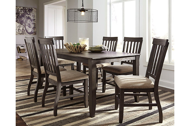 dresbar dining room table ashley furniture homestore