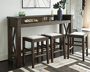 Hallishaw Counter Height Dining Set