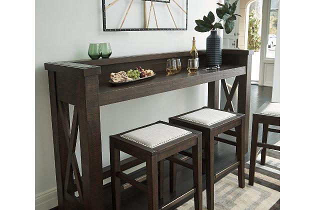 Hallishaw Bar Height Table, , large
