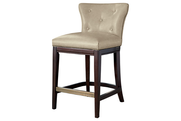 Beige Canidelli Counter Height Bar Stool View 2 - Canidelli Counter Height Bar Stool Ashley Furniture HomeStore