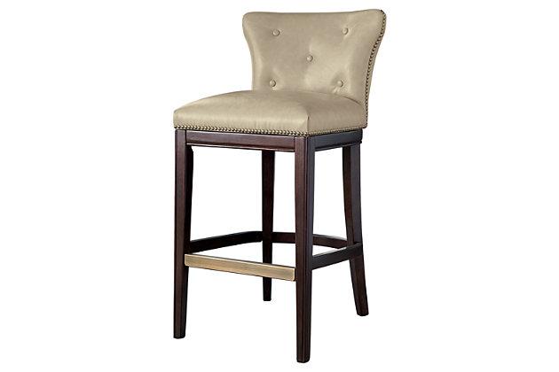 Beige Canidelli Pub Height Bar Stool View 2 - Canidelli Pub Height Bar Stool Ashley Furniture HomeStore