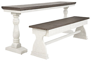 Braelow Dining Room Table and Bench (Set of 2), , large