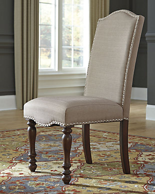 ... Large Baxenburg Dining Room Chair, , Rollover