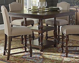 baxenburg counter height dining room table | ashley furniture