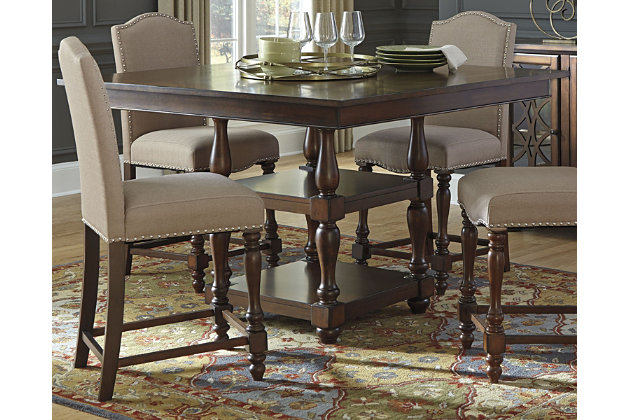Baxenburg Counter Height Dining Room Table by Ashley HomeStore, Brown