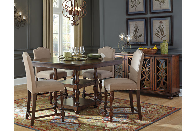 Baxenburg Counter Height Dining Room Table Ashley Furniture - Counter height dining room tables