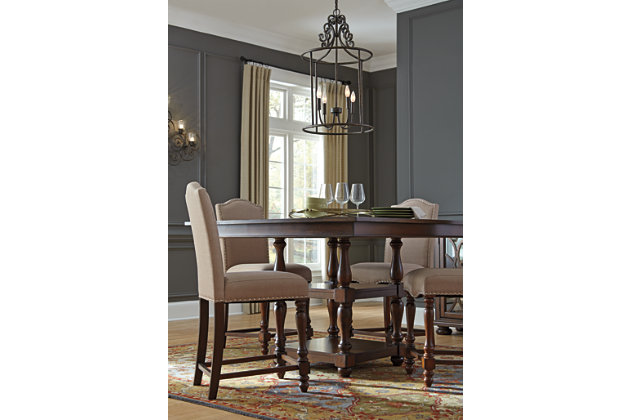 Baxenburg Counter Height Dining Room Table Ashley