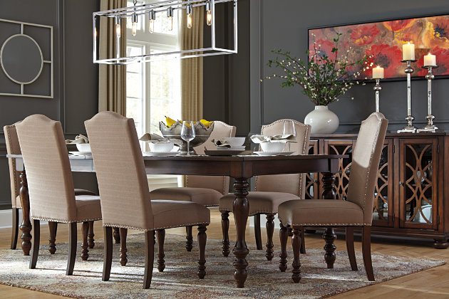 Baxenburg Dining Room Table | Ashley Furniture HomeStore