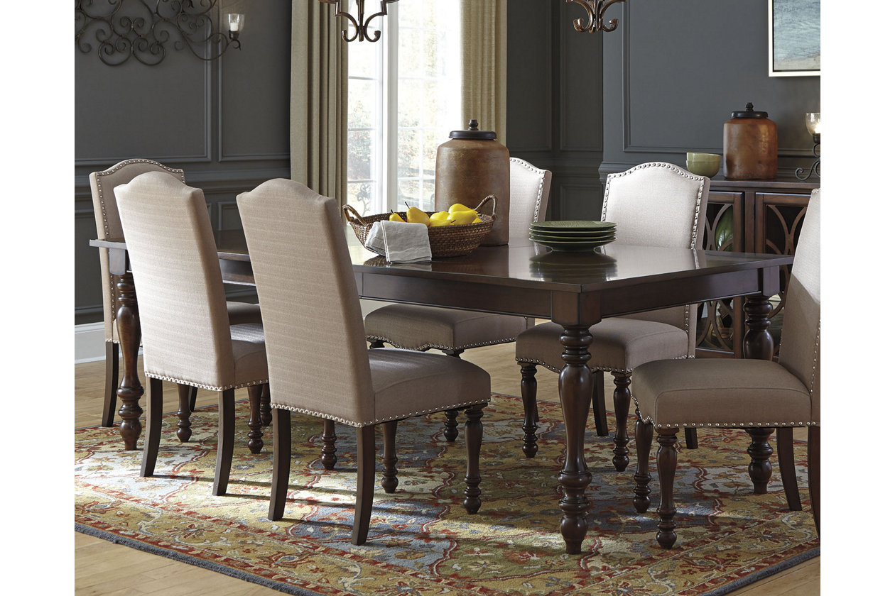 Baxenburg Dining Room Extension Table Ashley Furniture Homestore